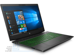 "HP Pavilion 15 Laptop, 15.6"" IPS FHD, i7-8750H, 16GB RAM, 512GB SSD, GTX 1060, Win10Pro"