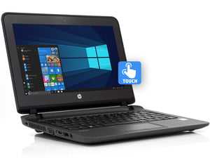 "HP ProBook 11 EE G2 Laptop, 11.6"" HD Touch, i3-6100U 2.3GHz, 4GB RAM, 256GB SSD, Win10Pro"