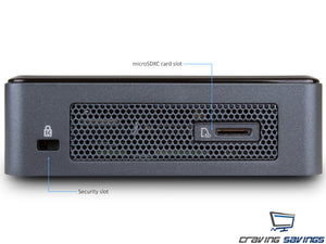 NUC8i3BEK Mini PC/HTPC, i3-8109U, 8GB RAM, 256GB NVMe SSD, Win10Pro