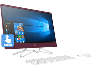 "HP Pavilion 24"" FHD AIO Touch PC, i3-8100T 3.1GHz, 8GB RAM, 1TB SSD, Win10Pro"