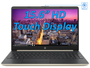 "HP 15.6"" HD Touch PC, i5-8265U, 16GB RAM, 1TB NVMe, Windows 10 Home"