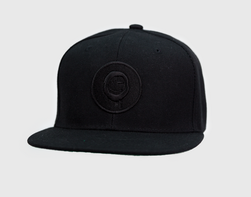 Black - Black Patch Hat