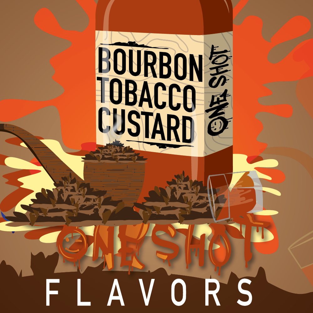 "Bourbon Tobacco Custard - One Shot ""DIY"" Kit"
