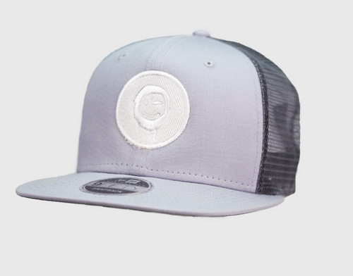 Grey - White Patch Hat
