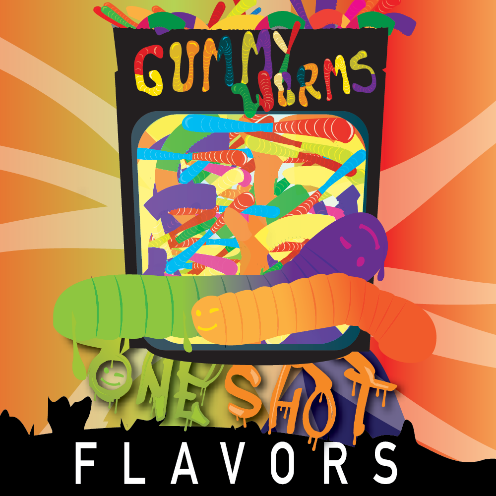 "Gummy Worms - One Shot ""DIY"" Kit"