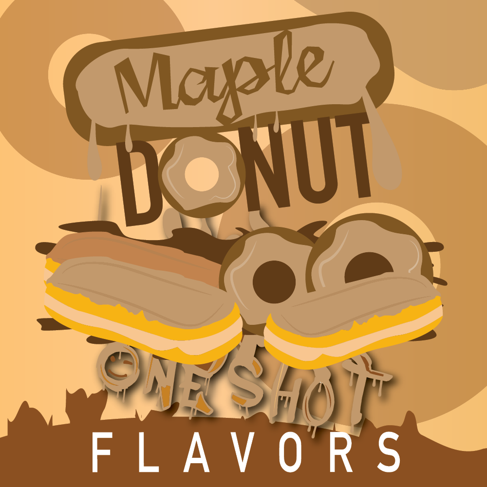 "Maple Donut - One Shot ""DIY"" Kit"