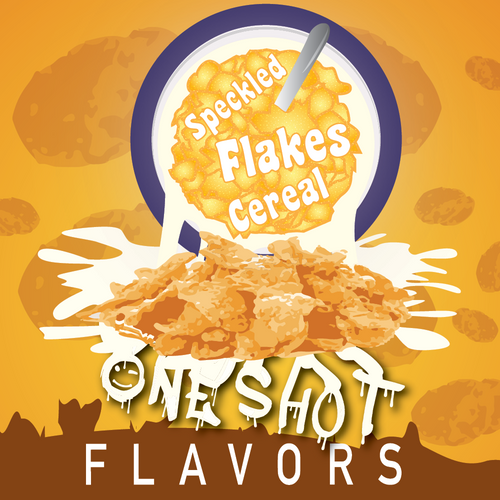 "Speckled Flakes Cereal - One Shot Flavor Concentrate ""DIY"" Kit"