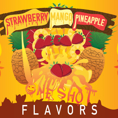 "Strawberry Pineapple Mango - One Shot Flavor Concentrate ""DIY"" Kit"