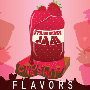 "Strawberry Jam - One Shot Flavor Concentrate ""DIY"" Kit"