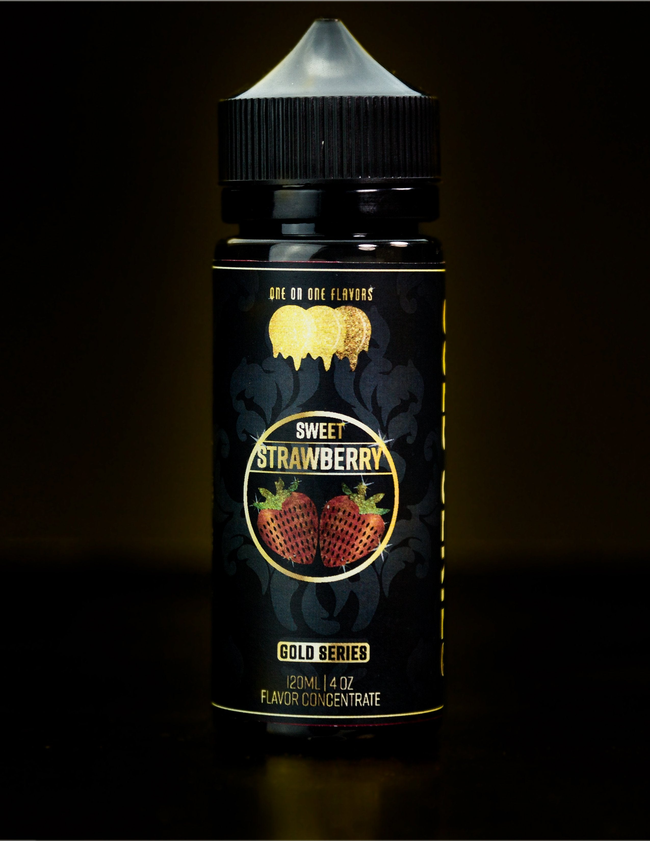 Gold Series - Sweetened Strawberry Flavored Liquid Concentrate