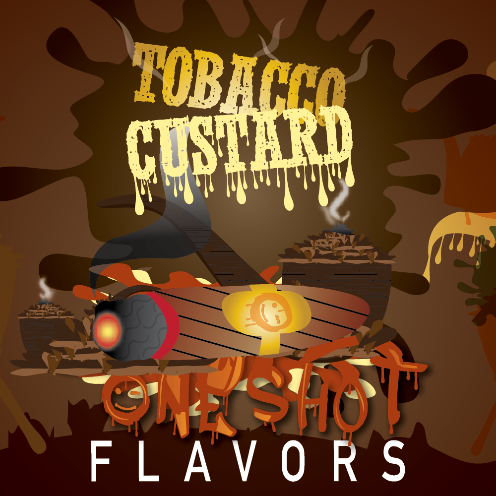 "Tobacco Custard - One Shot Flavor Concentrate ""DIY"" Kit"