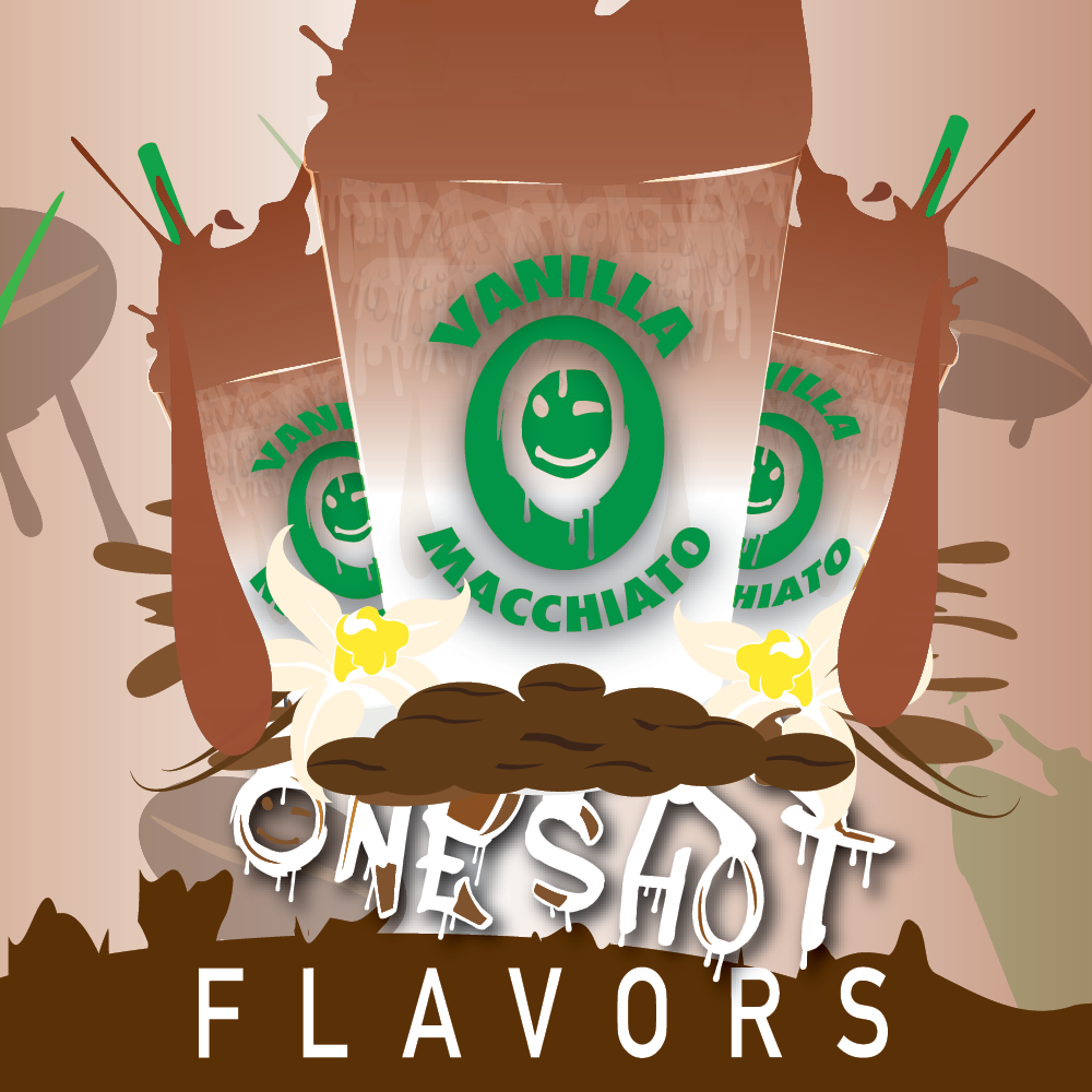 "Vanilla Macchiato - One Shot Flavor Concentrate ""DIY"" Kit"