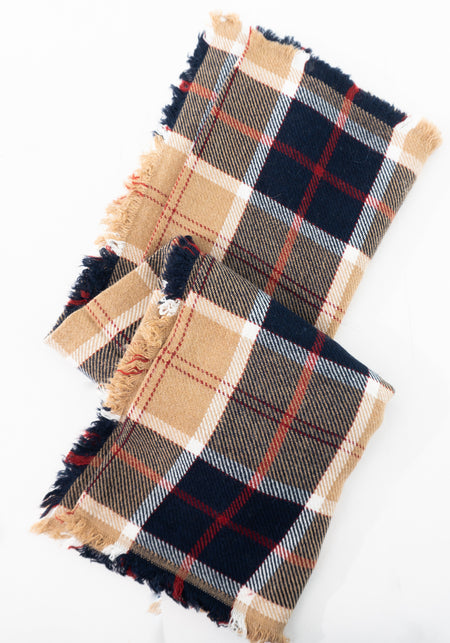 Pure Wool Pattern Scarf