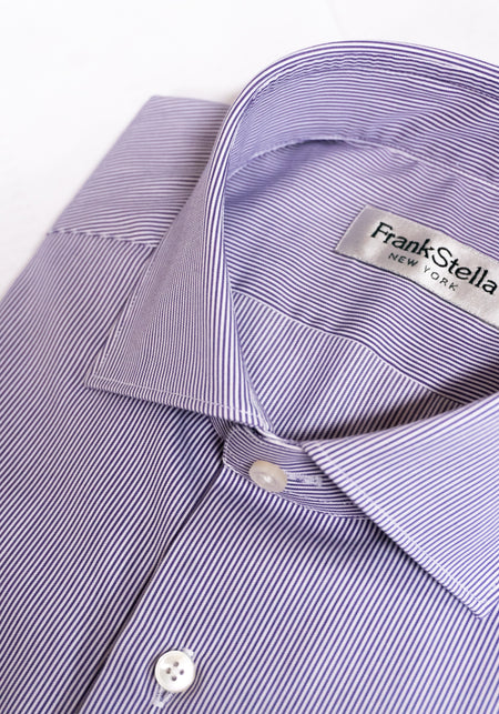 Purple & Grey Flannel Sport Shirt