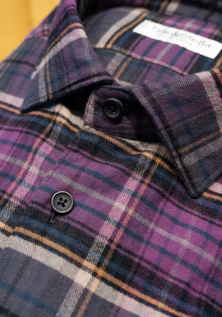 Blue & Red Check Sport Shirt