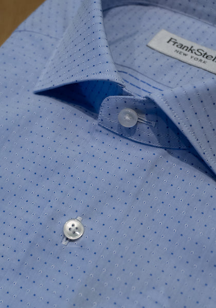 Light Blue Dot Sport Shirt