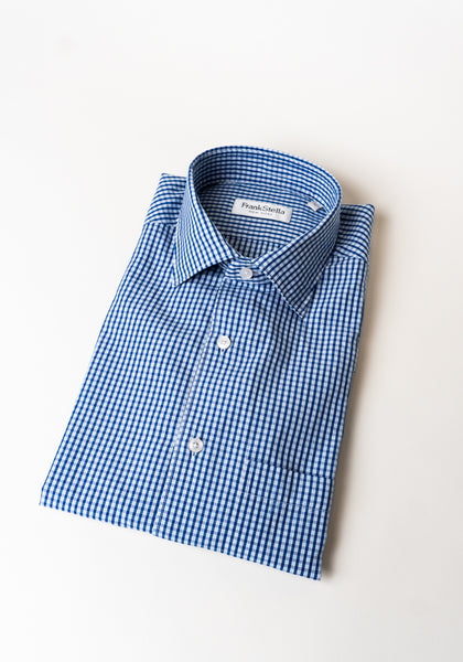 Two Tone Check Sport Shirt