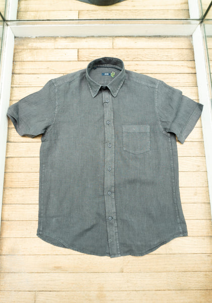 Pure Linen Short Sleeve Shirt