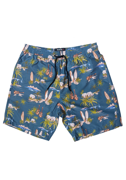 The Original Blue Pattern Swim