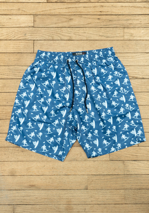 The Original Navy Pattern Swim