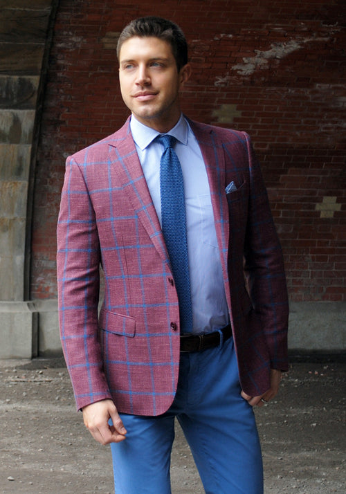 Berry & Blue Sport Coat