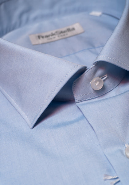 Frank Stella Light Blue Shirt - Frank Stella Clothiers