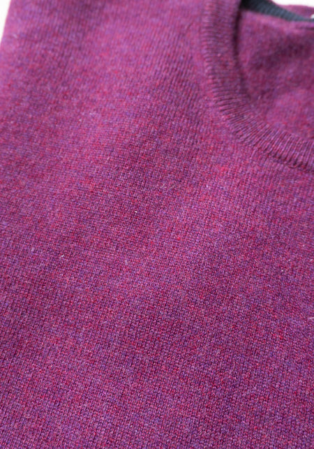 Lambswool Cashmere 1/4 Zip Sweater