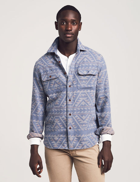 Faherty Canyon Overshirt - Frank Stella Clothiers