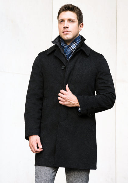 Frank Stella Classic Storm System 3/4 Coat - Frank Stella Clothiers