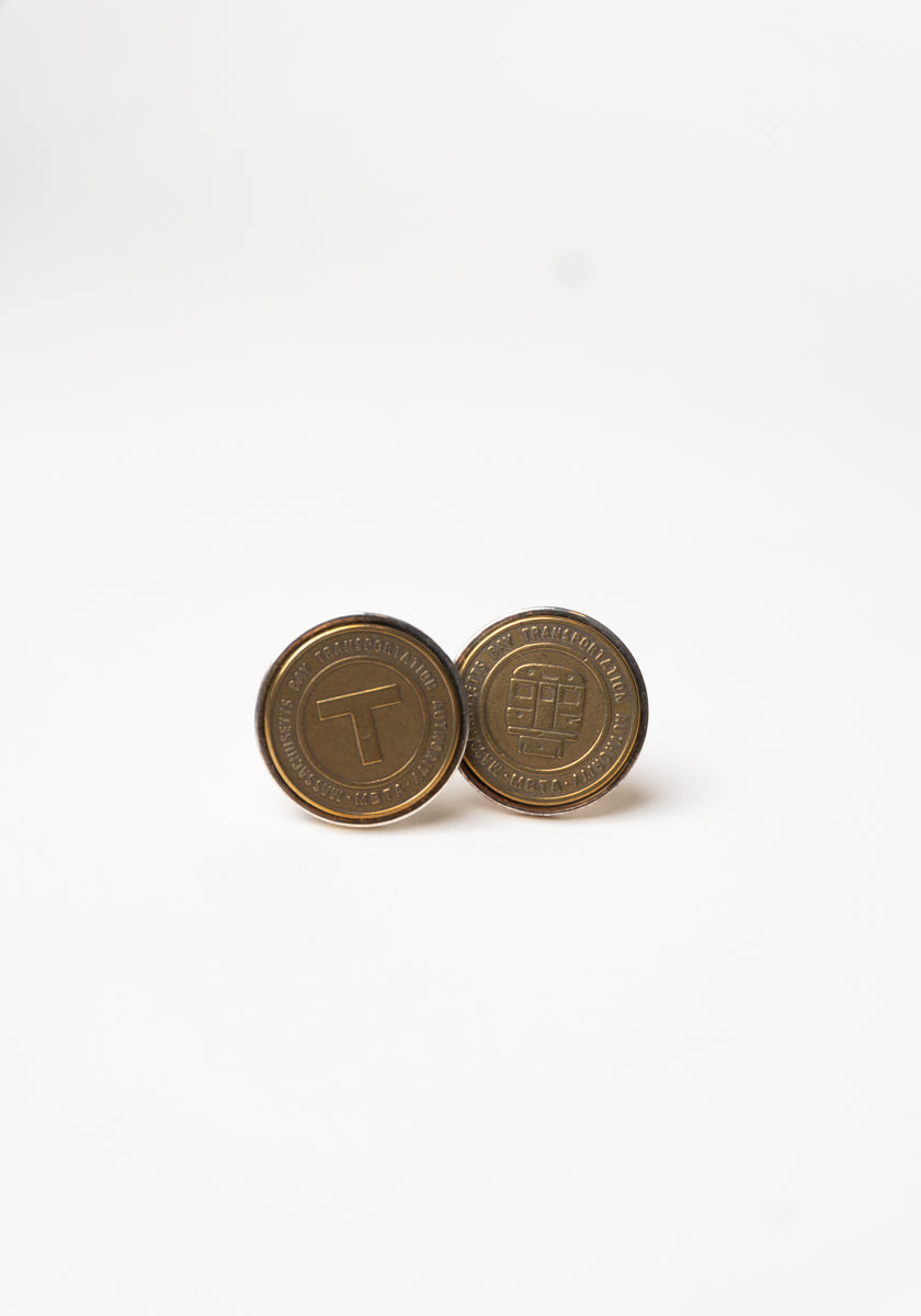 Boston Transit Icon Cufflinks