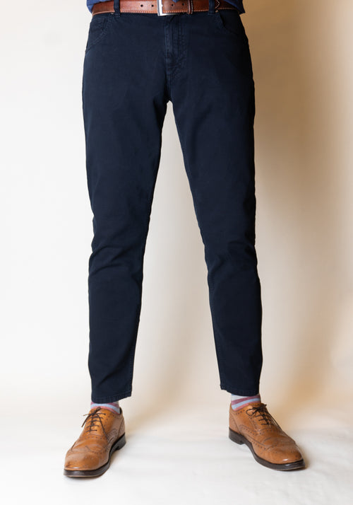 Alberto Canvas Modern Fit Jean - Frank Stella Clothiers