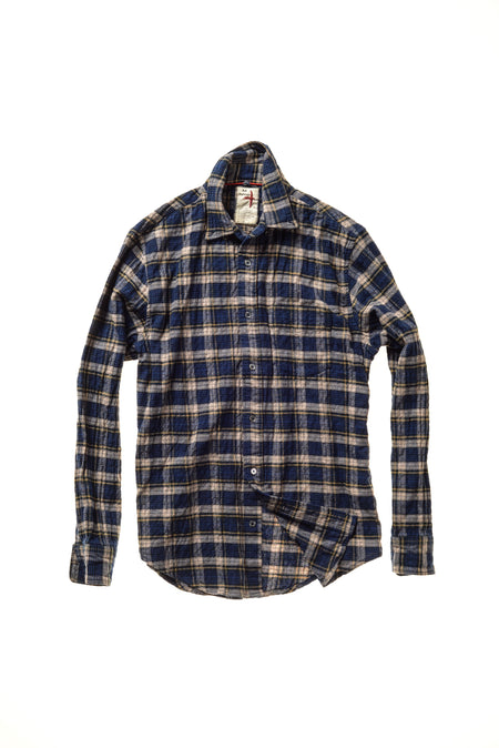 Melange Double Flannel Shirt