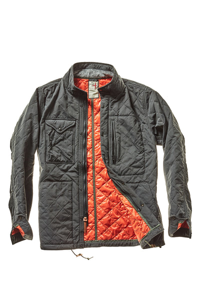 Relwen Quilted Tanker - Frank Stella Clothiers