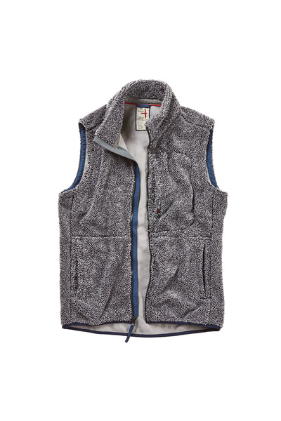 Shag Fleece Vest