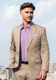 Frank Stella Classic Fit Pure Cotton Suit - Frank Stella Clothiers