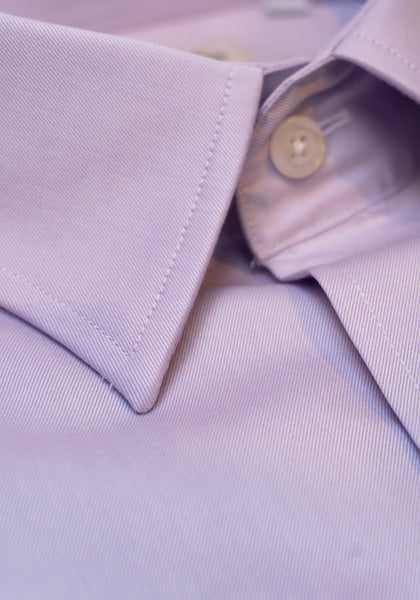Frank Stella Lilac Slim Fit Dress Shirt - Frank Stella Clothiers