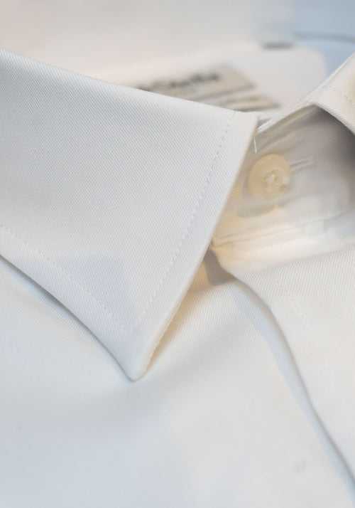 Frank Stella White Slim Fit Dress Shirt - Frank Stella Clothiers