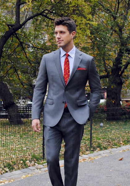 Frank Stella Tailored Fit Four Seasons Suit - Frank Stella Clothiers