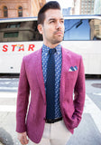 Raspberry Loro Piana Sport Coat