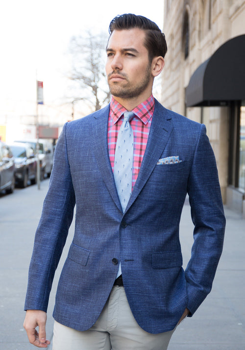 Blue Loro Piana Sport Coat