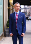 Frank Stella Tailored Fit Screencheck Suit - Frank Stella Clothiers