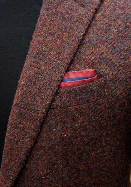 Frank Stella Harris Tweed Solid Sport Coat - Frank Stella Clothiers