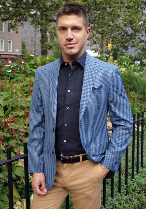 Jack Victor Check Sport Coat - Frank Stella Clothiers