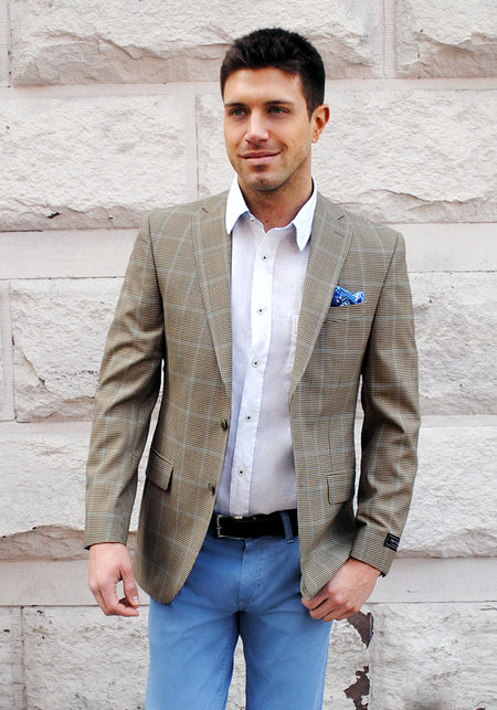 Check Bamboo Sport Coat