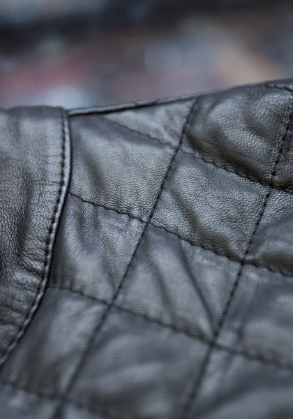 Jerry Kaye Quilted Leather Jacket - Frank Stella Clothiers