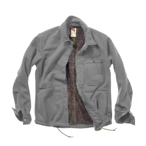 Laminated Pile Shirt Jacket