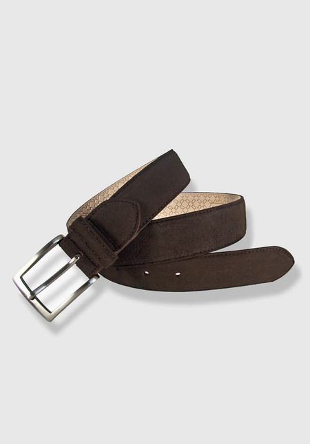 Flattened Leather Belt