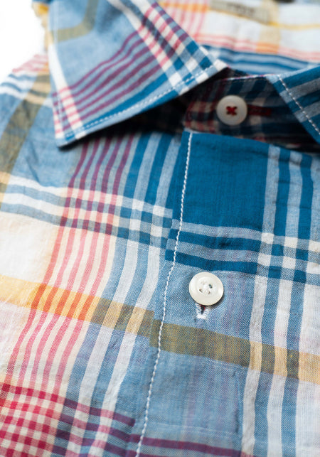 Light Blue Pattern Shirt