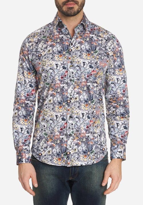 Robert Graham Greene Sport Shirt - Frank Stella Clothiers
