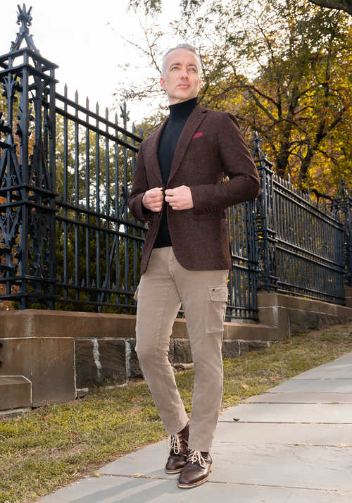 Mason's Micro Cord Cargo Pant - Frank Stella Clothiers